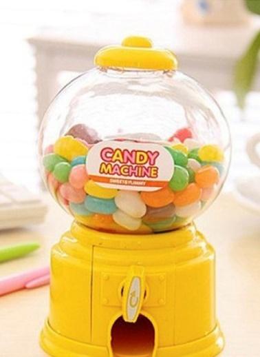 Organize Evler - Mini Şeker Makinesi ve Kumbara